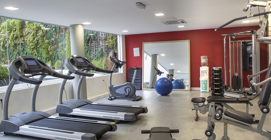 Fitness Center Regency Way Montevideo Hotel en Montevideo